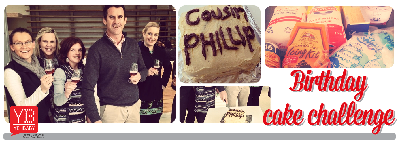 Cousin Phillip's Birthday Cake Challenge!